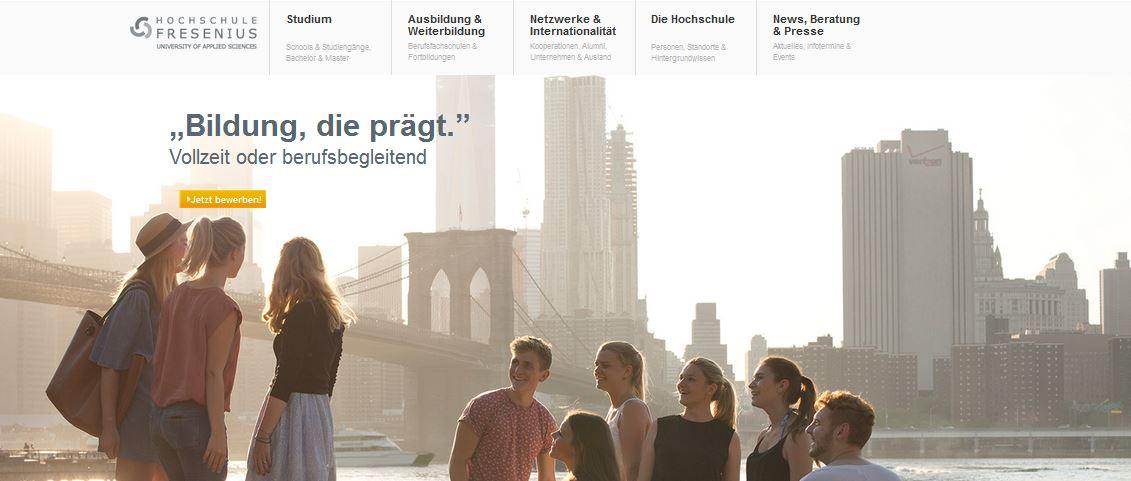 Bewertungen Fresenius Hochschule