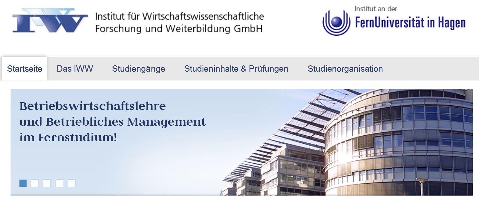 Bewertungen IWW Hochschule