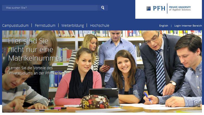 Bewertungen PFH Hochschule