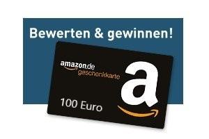 Fernstudium bewerten und einen Amazon (R) Gutschein über 100 Euro gewinnen