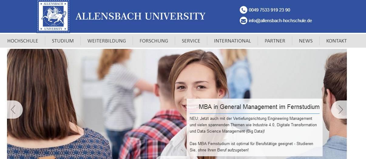 Bewertungen Allensbach Hochschule